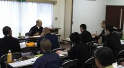 8月10日(月曜日)京浜組 安養寺様に於いて、鎌倉大本山光明寺様のお十夜法要についての勉強会を行いました。 講師に慶岸寺様 林田康順上人にご講義をお願い致しました。
